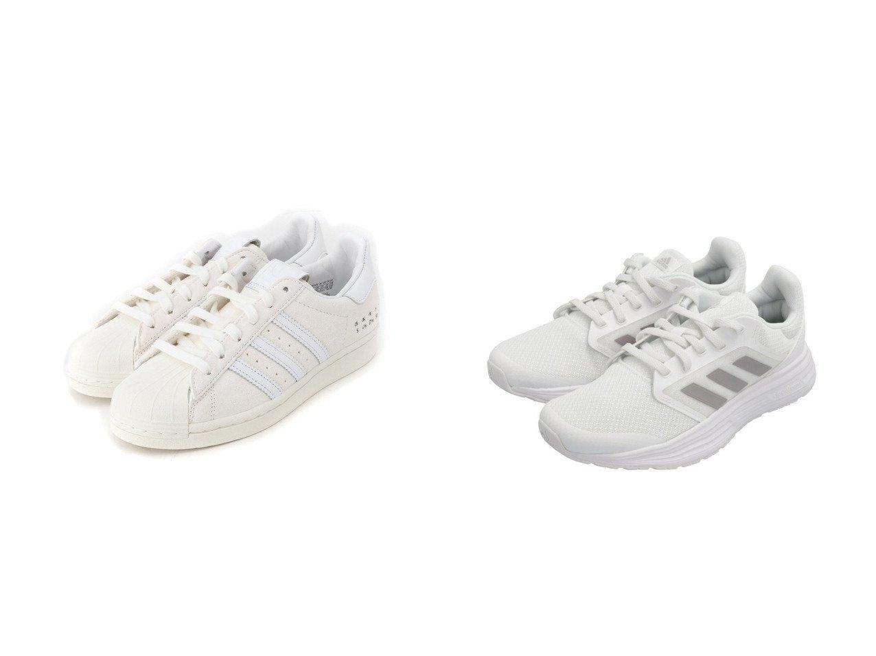 【adidas Sports Performance/アディダス スポーツ パフォーマンス】のギャラクシー 5 Galaxy 5 アディダス&【adidas Originals/アディダス オリジナルス】のスーパースター SUPERSTAR アディダスオリジナルス 【シューズ・靴】おすすめ!人気、トレンド・レディースファッションの通販 おすすめで人気の流行・トレンド、ファッションの通販商品 メンズファッション・キッズファッション・インテリア・家具・レディースファッション・服の通販 founy(ファニー) https://founy.com/ ファッション Fashion レディースファッション WOMEN クッション シューズ スニーカー スリッポン フィット ランニング レギュラー 軽量 スエード スタイリッシュ ストライプ プレミアム リュクス |ID:crp329100000030411