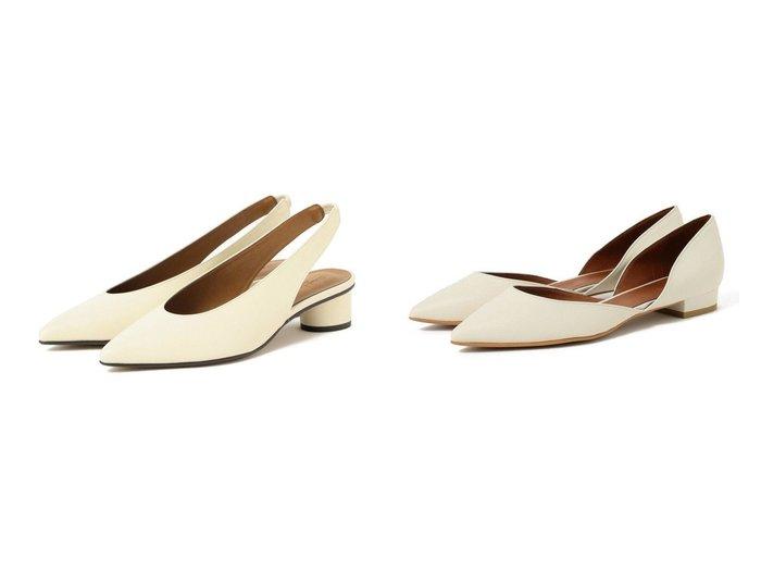 【Demi-Luxe BEAMS/デミルクス ビームス】のDemi- セパレート フラットパンプス&Demi- バックストラップ シューズ 【シューズ・靴】おすすめ!人気、トレンド・レディースファッションの通販 おすすめ人気トレンドファッション通販アイテム インテリア・キッズ・メンズ・レディースファッション・服の通販 founy(ファニー) https://founy.com/ ファッション Fashion レディースファッション WOMEN バッグ Bag シューズ スタイリッシュ セパレート フラット ベーシック モダン バランス |ID:crp329100000030414