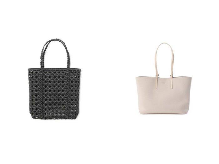 【INED/イネド】の《SUPERIOR CLOSET》2WAYトートバッグ《YAHKI》&【BALI WERKSTATTE/バリ ワークスタット】のRotan Basket Synthetic-Square Large 【バッグ・鞄】おすすめ!人気、トレンド・レディースファッションの通販 おすすめファッション通販アイテム レディースファッション・服の通販 founy(ファニー) ファッション Fashion レディースファッション WOMEN バッグ Bag クッション ショルダー シンプル ハンド 軽量 エレガント スクエア ハンドバッグ バスケット フェミニン リゾート |ID:crp329100000030429