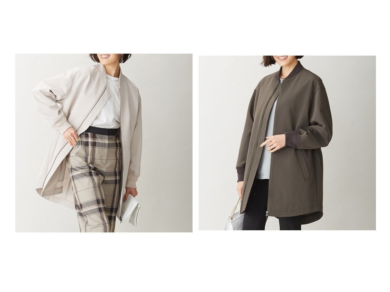【iCB/アイシービー】のHi Folm Double Cloth アウター 【アウター】おすすめ!人気、トレンド・レディースファッションの通販 おすすめで人気の流行・トレンド、ファッションの通販商品 メンズファッション・キッズファッション・インテリア・家具・レディースファッション・服の通販 founy(ファニー) https://founy.com/ ファッション Fashion レディースファッション WOMEN アウター Coat Outerwear ジャケット Jackets 春 Spring シンプル ジャケット ストレッチ ダブル フォルム ボトム ミドル モダン ロング 2021年 2021 S/S・春夏 SS・Spring/Summer 2021春夏・S/S SS/Spring/Summer/2021 送料無料 Free Shipping |ID:crp329100000030488
