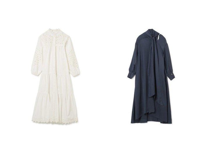 【Sea NEW YORK/シー ニューヨーク】のS BUTTON DOWN DRESS&【FLORENT/フローレント】のTie Detail Dress 【ワンピース・ドレス】おすすめ!人気、トレンド・レディースファッションの通販 おすすめファッション通販アイテム インテリア・キッズ・メンズ・レディースファッション・服の通販 founy(ファニー) https://founy.com/ ファッション Fashion レディースファッション WOMEN ワンピース Dress ドレス Party Dresses 2021年 2021 2021春夏・S/S SS/Spring/Summer/2021 S/S・春夏 SS・Spring/Summer ギャザー スカラップ ドレス フェミニン フォーマル レース 長袖 |ID:crp329100000030505