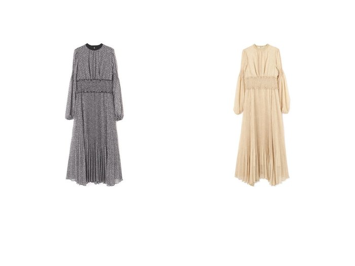 【JILLSTUART/ジルスチュアート】の《Exclusive Line》シャーリングフラワープリントワンピース 【ワンピース・ドレス】おすすめ!人気、トレンド・レディースファッションの通販 おすすめファッション通販アイテム レディースファッション・服の通販 founy(ファニー) ファッション Fashion レディースファッション WOMEN ワンピース Dress 2021年 2021 2021春夏・S/S SS/Spring/Summer/2021 S/S・春夏 SS・Spring/Summer シャーリング スタンダード フェミニン プリーツ 春 Spring |ID:crp329100000030526