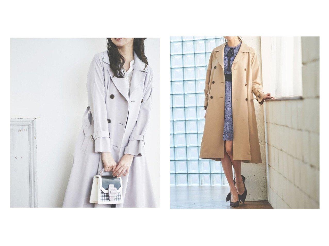【31 Sons de mode/トランテアン ソン ドゥ モード】のロングトレンチコート 【アウター】おすすめ!人気、トレンド・レディースファッションの通販  おすすめで人気の流行・トレンド、ファッションの通販商品 メンズファッション・キッズファッション・インテリア・家具・レディースファッション・服の通販 founy(ファニー) https://founy.com/ ファッション Fashion レディースファッション WOMEN アウター Coat Outerwear コート Coats ジャケット Jackets トレンチコート Trench Coats 2021年 2021 2021春夏・S/S SS/Spring/Summer/2021 S/S・春夏 SS・Spring/Summer ジャケット ロング 春 Spring  ID:crp329100000030593