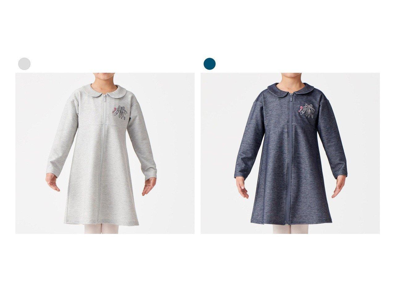 【Chacott / KIDS/チャコット】の【再入荷】ジップアップワンピース 【KIDS】子供服のおすすめ!人気トレンド・キッズファッションの通販 おすすめで人気の流行・トレンド、ファッションの通販商品 メンズファッション・キッズファッション・インテリア・家具・レディースファッション・服の通販 founy(ファニー) https://founy.com/ ファッション Fashion キッズファッション KIDS ワンピース Dress/Kids バレエ 人気 再入荷 Restock/Back in Stock/Re Arrival |ID:crp329100000030736
