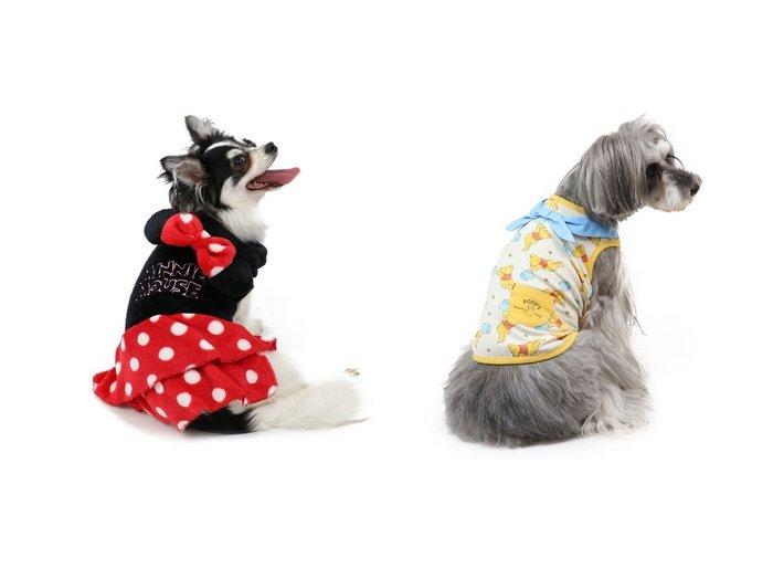 【PET PARADISE/ペットパラダイス】のディズニー くまのプーさん 水色バンダナ タンクトップ〔小型犬〕&ディズニー ミニーマウス ロゴ柄 なりきりミニー 〔超・小型犬〕 おすすめ!人気、ペットグッズの通販 おすすめ人気トレンドファッション通販アイテム 人気、トレンドファッション・服の通販 founy(ファニー)  S/S・春夏 SS・Spring/Summer タンク バンダナ 再入荷 Restock/Back in Stock/Re Arrival ホームグッズ Home/Garden ペットグッズ Pet Supplies |ID:crp329100000030854