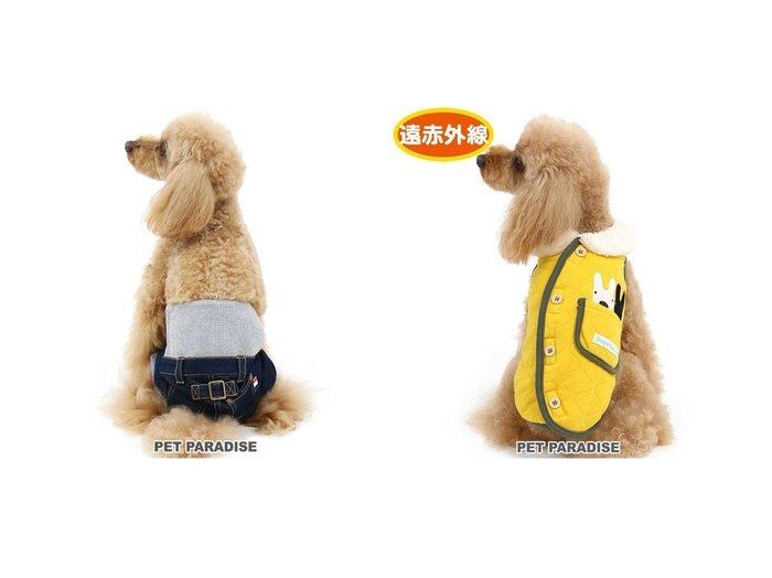 【PET PARADISE/ペットパラダイス】のペットパラダイス マナーパンツ 紺 小型犬&リサとガスパール 遠赤外線 キルティング 綿入りベスト〔小型犬〕 おすすめ!人気、ペットグッズの通販 おすすめ人気トレンドファッション通販アイテム 人気、トレンドファッション・服の通販 founy(ファニー)  抗菌 キルティング パール ベスト ホームグッズ Home/Garden ペットグッズ Pet Supplies  ID:crp329100000030858