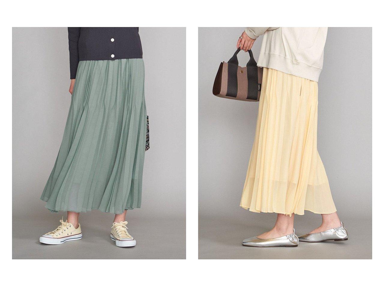 【BEAUTY&YOUTH / UNITED ARROWS/ビューティ&ユース ユナイテッドアローズ】のBY ランダムプリーツマキシスカート 【スカート】おすすめ!人気トレンド・レディースファッションの通販  おすすめで人気の流行・トレンド、ファッションの通販商品 メンズファッション・キッズファッション・インテリア・家具・レディースファッション・服の通販 founy(ファニー) https://founy.com/ ファッション Fashion レディースファッション WOMEN スカート Skirt プリーツスカート Pleated Skirts NEW・新作・新着・新入荷 New Arrivals ギャザー プリーツ マキシ ランダム 春 Spring  ID:crp329100000030916