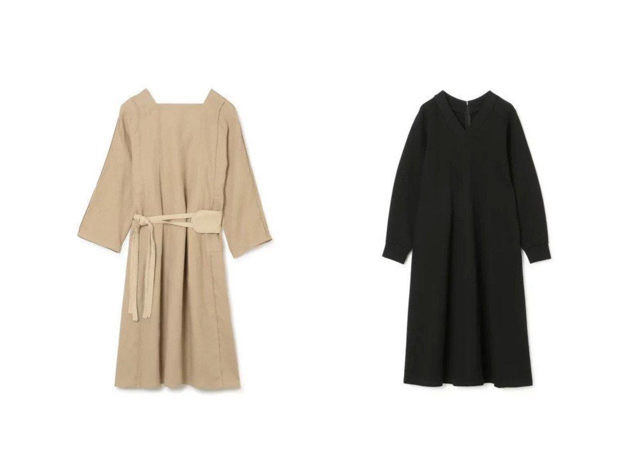 【LE CIEL BLEU/ルシェル ブルー】のVNeckSweatDress&【QUWAGI/クワギ】のHEMP DRESS 【ワンピース・ドレス】おすすめ!人気、トレンド・レディースファッションの通販 おすすめで人気の流行・トレンド、ファッションの通販商品 メンズファッション・キッズファッション・インテリア・家具・レディースファッション・服の通販 founy(ファニー) https://founy.com/ ファッション Fashion レディースファッション WOMEN ワンピース Dress ドレス Party Dresses シャツワンピース Shirt Dresses スウェット ドレス フレア ルーズ 洗える 長袖 |ID:crp329100000031147
