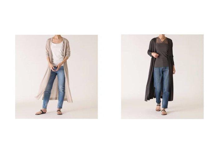 【I.T.'S. international/イッツインターナショナル】のギャザーロングカーディガン 【トップス・カットソー】おすすめ!人気、トレンド・レディースファッションの通販 おすすめファッション通販アイテム インテリア・キッズ・メンズ・レディースファッション・服の通販 founy(ファニー) https://founy.com/ ファッション Fashion レディースファッション WOMEN トップス・カットソー Tops/Tshirt カーディガン Cardigans カーディガン ギャザー ロング |ID:crp329100000031251
