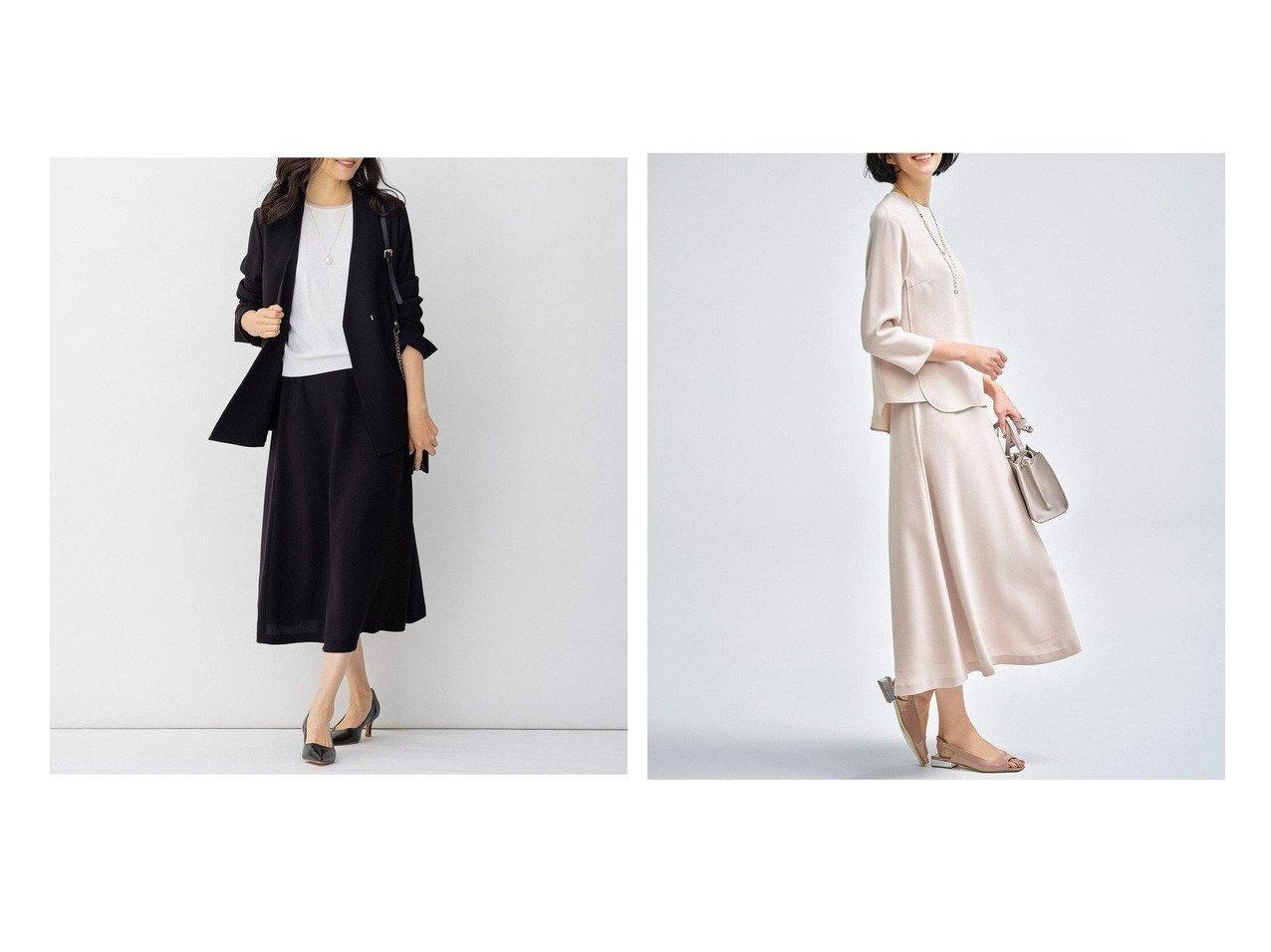 【JIYU-KU/自由区】の【Sサイズ有】マルチプルセットアップ スカート 【スカート】おすすめ!人気、トレンド・レディースファッションの通販 おすすめで人気の流行・トレンド、ファッションの通販商品 メンズファッション・キッズファッション・インテリア・家具・レディースファッション・服の通販 founy(ファニー) https://founy.com/ ファッション Fashion レディースファッション WOMEN セットアップ Setup スカート Skirt ギャザー 抗菌 ジャケット セットアップ 雑誌 トレンド マーメイド ロング 再入荷 Restock/Back in Stock/Re Arrival 送料無料 Free Shipping おすすめ Recommend |ID:crp329100000031409