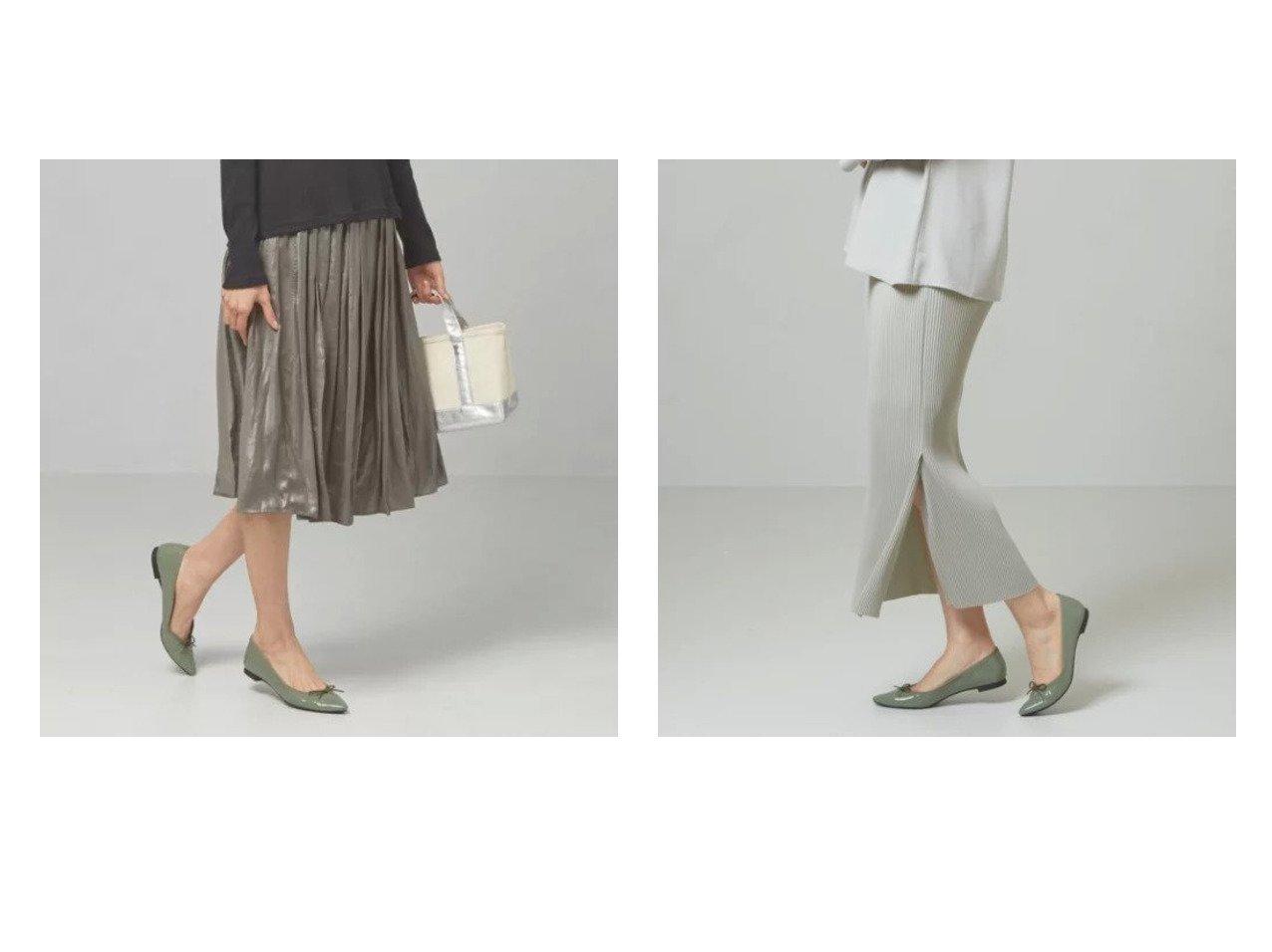 【THE STATION STORE / UNITED ARROWS/ザ ステーション ストア】のシャイニーサテン ギャザー スカート -手洗い可能-&プリーツ マキシ タイトスカート -手洗い可能- 【スカート】おすすめ!人気、トレンド・レディースファッションの通販 おすすめで人気の流行・トレンド、ファッションの通販商品 メンズファッション・キッズファッション・インテリア・家具・レディースファッション・服の通販 founy(ファニー) https://founy.com/ ファッション Fashion レディースファッション WOMEN スカート Skirt エアリー エレガント ギャザー 今季 サテン シューズ バランス フラット 春 Spring スウェット スリット セットアップ タイトスカート パーカー フィット プリーツ マキシ ロング 楽ちん |ID:crp329100000031415