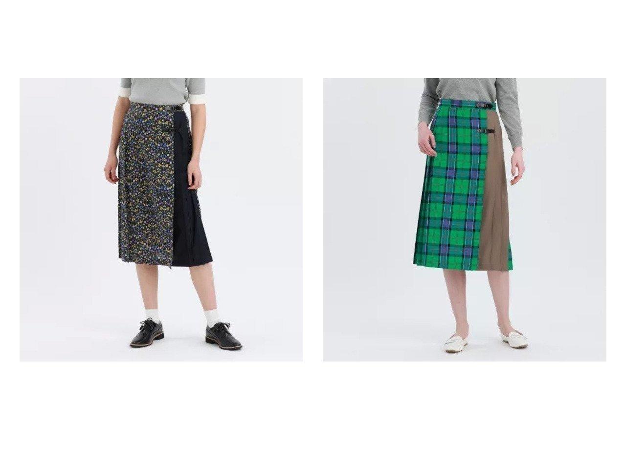【MACKINTOSH PHILOSOPHY/マッキントッシュ フィロソフィー】のSnowblue Gardenキルトスカート&タータンチェックキルトスカート 【スカート】おすすめ!人気、トレンド・レディースファッションの通販 おすすめで人気の流行・トレンド、ファッションの通販商品 メンズファッション・キッズファッション・インテリア・家具・レディースファッション・服の通販 founy(ファニー) https://founy.com/ ファッション Fashion レディースファッション WOMEN スカート Skirt キルト シンプル チェック ベーシック マキシ ロング 別注 春 Spring 無地 洗える トレンド |ID:crp329100000031417
