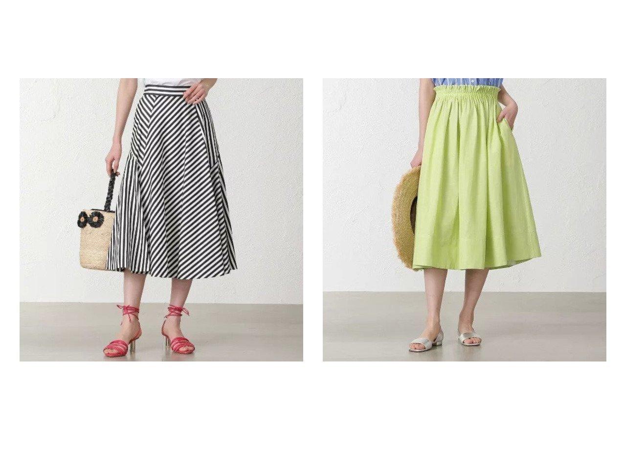 【EPOCA THE SHOP/エポカ ザ ショップ】の【MIHOKO SAITO】ストライプフレアスカート&【MIHOKO SAITO】カラーギャザースカート 【スカート】おすすめ!人気、トレンド・レディースファッションの通販 おすすめで人気の流行・トレンド、ファッションの通販商品 メンズファッション・キッズファッション・インテリア・家具・レディースファッション・服の通販 founy(ファニー) https://founy.com/ ファッション Fashion レディースファッション WOMEN スカート Skirt Aライン/フレアスカート Flared A-Line Skirts 春 Spring キュプラ ギャザー コレクション マキシ モダン レース ロング おすすめ Recommend イエロー ストライプ フレア フレンチ ベーシック リネン |ID:crp329100000031418