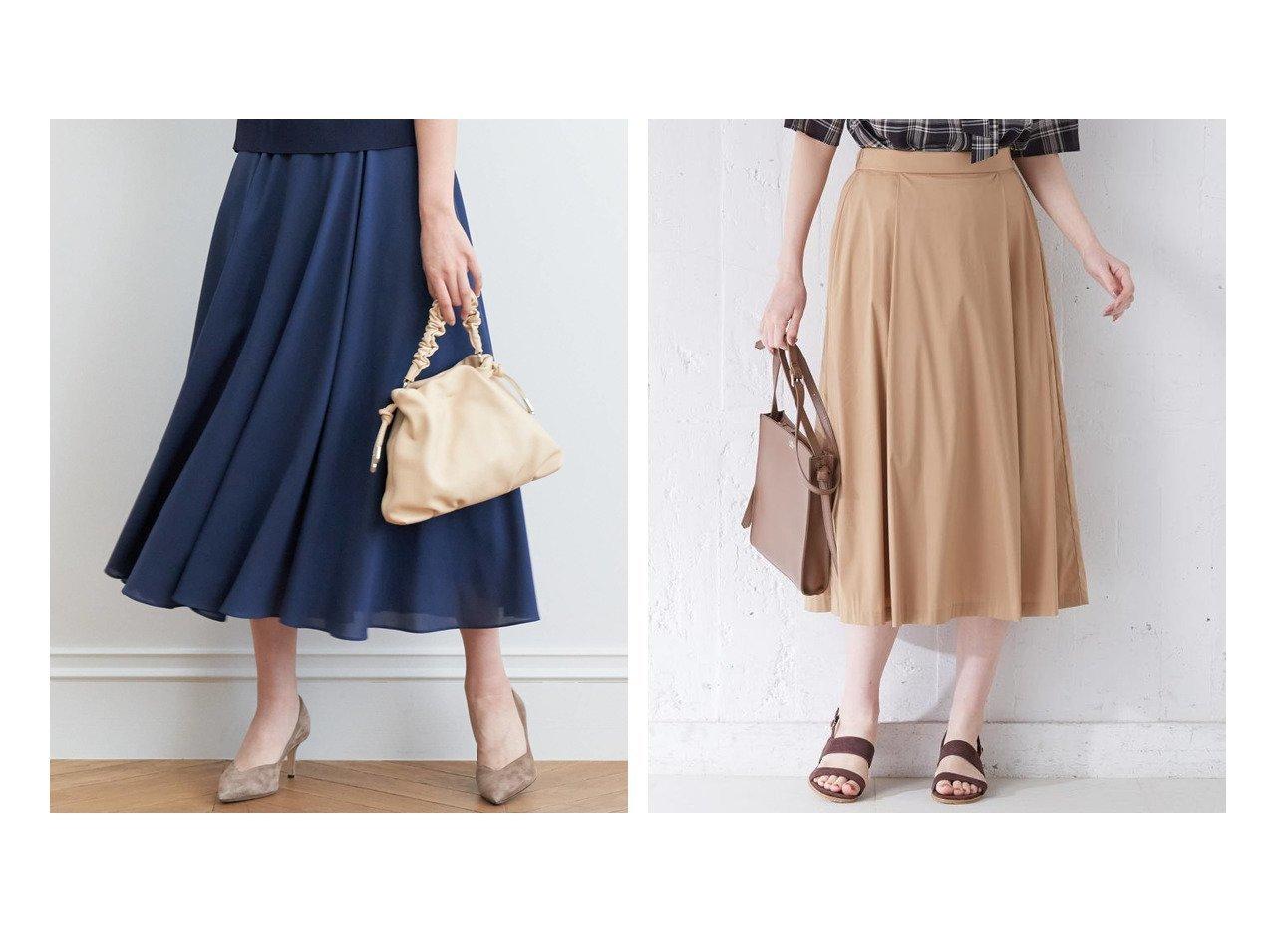 【J.PRESS/ジェイ プレス】の【洗える】コットンナイロンシルキーローン スカート&【ANAYI/アナイ】のマットジョーゼットフレアスカート 【スカート】おすすめ!人気、トレンド・レディースファッションの通販 おすすめで人気の流行・トレンド、ファッションの通販商品 メンズファッション・キッズファッション・インテリア・家具・レディースファッション・服の通販 founy(ファニー) https://founy.com/ ファッション Fashion レディースファッション WOMEN スカート Skirt Aライン/フレアスカート Flared A-Line Skirts おすすめ Recommend エアリー ギャザー シンプル ジャケット ジョーゼット フレア プレーン ランダム ワンポイント 再入荷 Restock/Back in Stock/Re Arrival 洗える 軽量 ストレッチ ドレープ 定番 Standard 人気 ワイド |ID:crp329100000031422