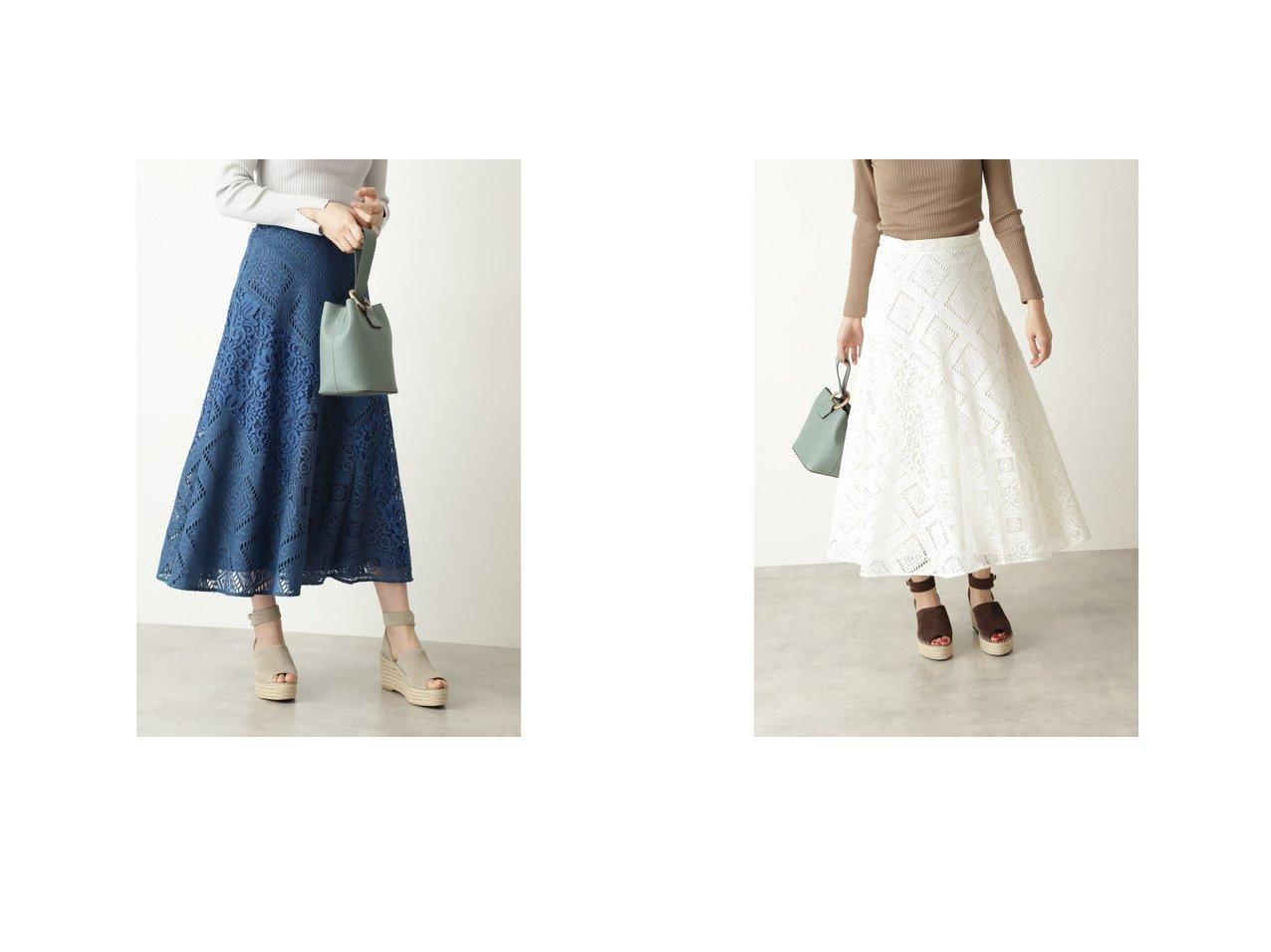 【JILLSTUART/ジルスチュアート】のレースブロッキングスカート 【スカート】おすすめ!人気、トレンド・レディースファッションの通販 おすすめで人気の流行・トレンド、ファッションの通販商品 メンズファッション・キッズファッション・インテリア・家具・レディースファッション・服の通販 founy(ファニー) https://founy.com/ ファッション Fashion レディースファッション WOMEN スカート Skirt 2021年 2021 2021春夏・S/S SS/Spring/Summer/2021 S/S・春夏 SS・Spring/Summer スリム パッチワーク レース ロング 春 Spring |ID:crp329100000031431