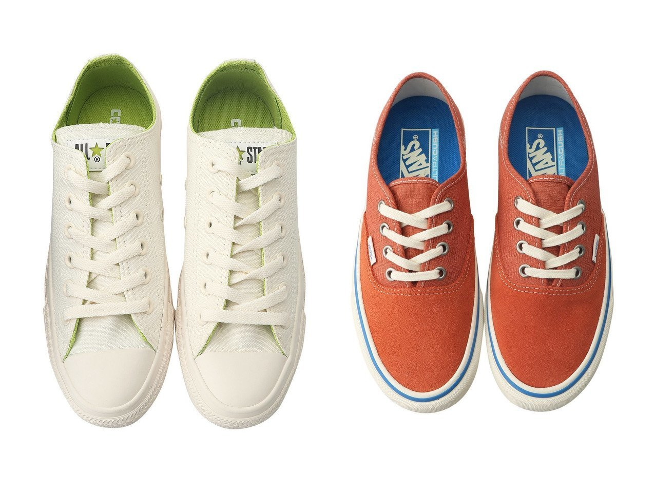 【JET/ジェット】の【JET LOSANGELES】【VANS】Authentic Sf スニーカー&【CONVERSE/コンバース】のオールスター コスモインホワイト OX 【シューズ・靴】おすすめ!人気、トレンド・レディースファッションの通販 おすすめで人気の流行・トレンド、ファッションの通販商品 メンズファッション・キッズファッション・インテリア・家具・レディースファッション・服の通販 founy(ファニー) https://founy.com/ ファッション Fashion レディースファッション WOMEN インソール スニーカー ビビッド ライニング 人気 クッション 軽量 |ID:crp329100000031433