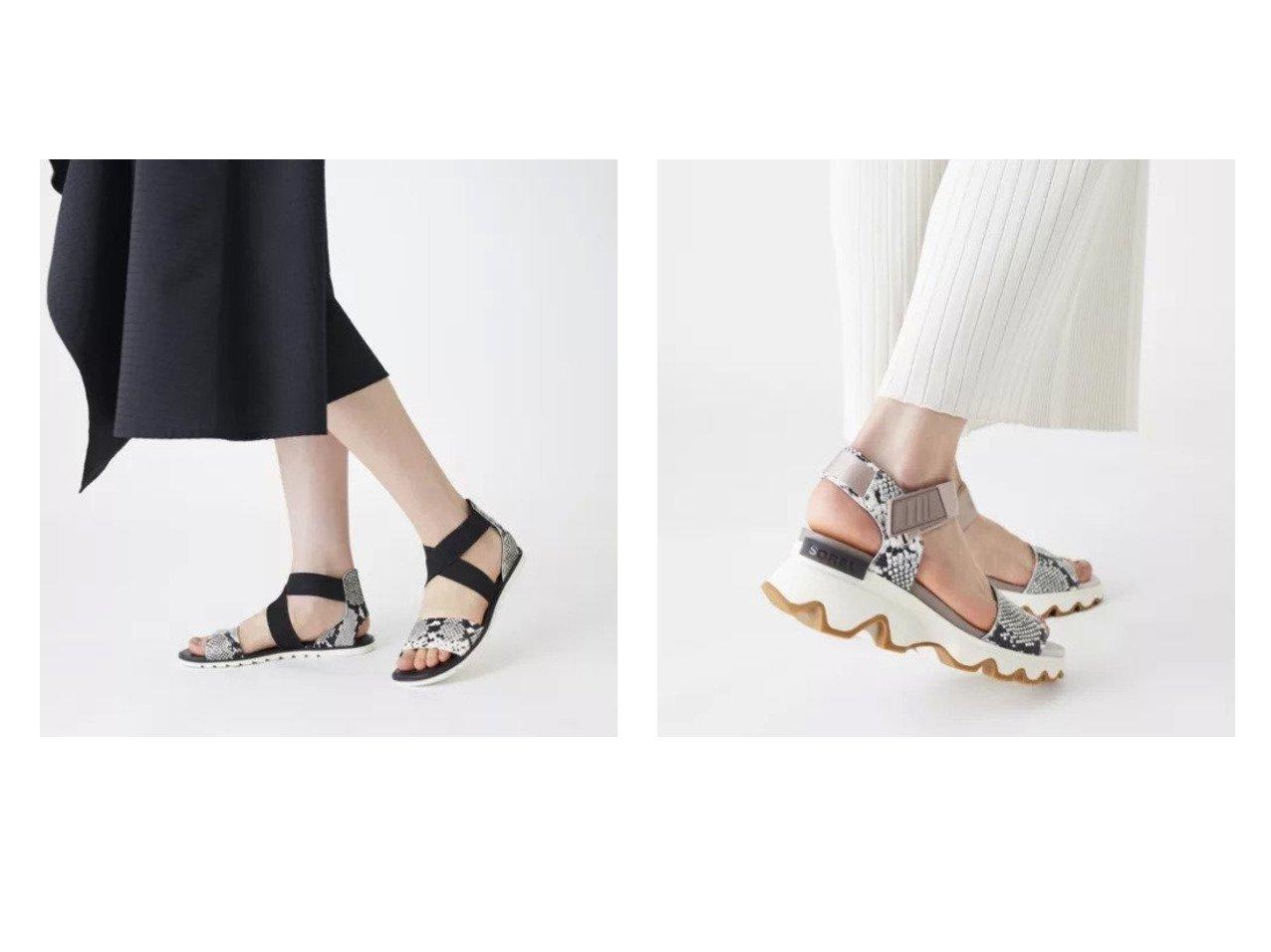 【Odette e Odile/オデット エ オディール】のSOREL Ella SD&SOREL Kinetic SD 【シューズ・靴】おすすめ!人気、トレンド・レディースファッションの通販 おすすめで人気の流行・トレンド、ファッションの通販商品 メンズファッション・キッズファッション・インテリア・家具・レディースファッション・服の通販 founy(ファニー) https://founy.com/ ファッション Fashion レディースファッション WOMEN サンダル シューズ フラット 人気 |ID:crp329100000031441