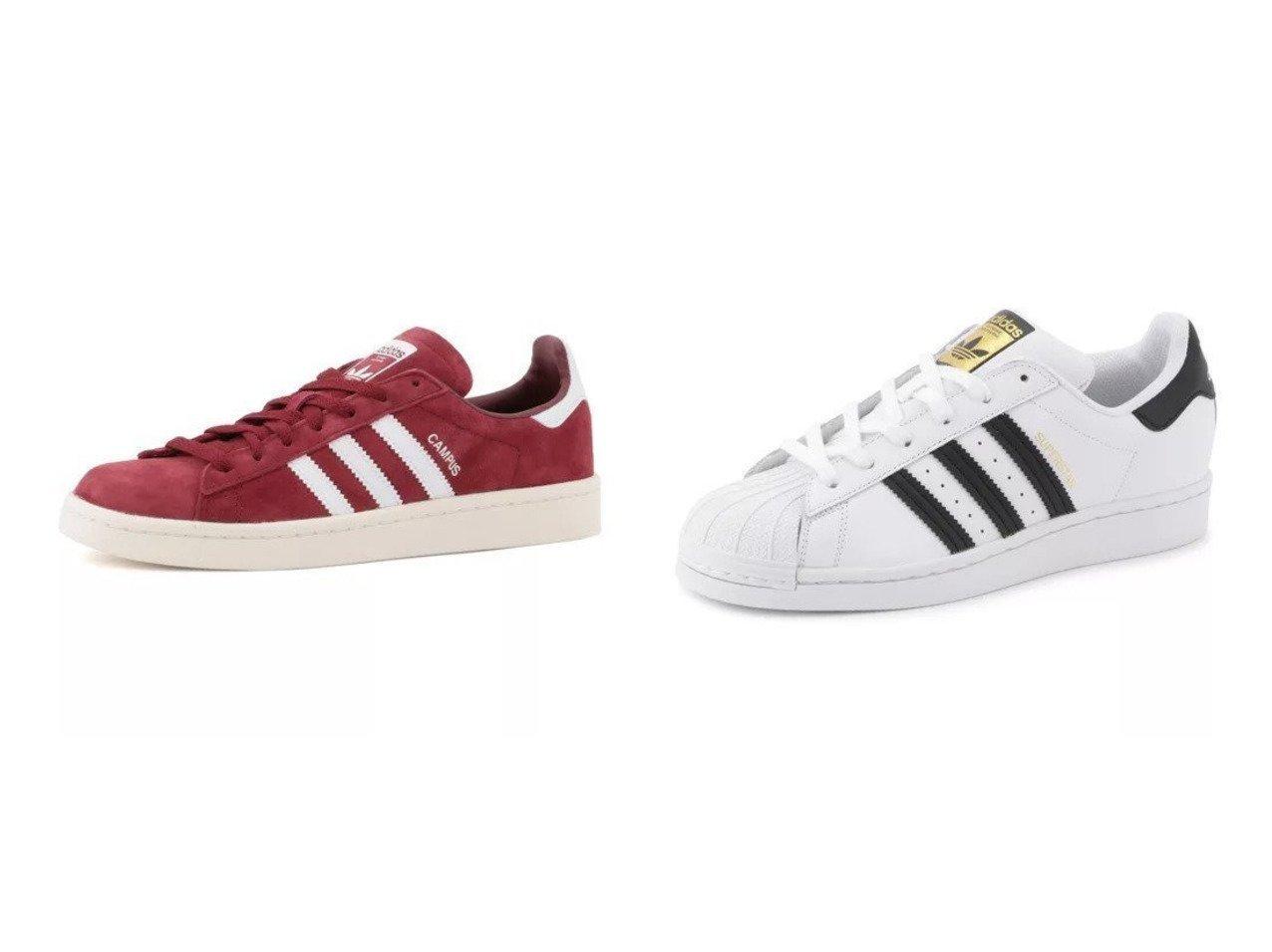 【adidas Originals/アディダス オリジナルス】のSUPERSTAR W&CAMPUS 【シューズ・靴】おすすめ!人気、トレンド・レディースファッションの通販 おすすめで人気の流行・トレンド、ファッションの通販商品 メンズファッション・キッズファッション・インテリア・家具・レディースファッション・服の通販 founy(ファニー) https://founy.com/ ファッション Fashion レディースファッション WOMEN シューズ スウェード スニーカー 人気 |ID:crp329100000031443