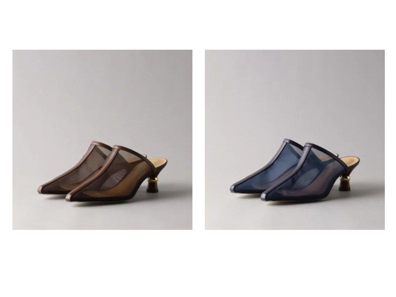【Odette e Odile/オデット エ オディール】のOID シアーミュール パンプス55 【シューズ・靴】おすすめ!人気、トレンド・レディースファッションの通販 おすすめで人気の流行・トレンド、ファッションの通販商品 メンズファッション・キッズファッション・インテリア・家具・レディースファッション・服の通販 founy(ファニー) https://founy.com/ ファッション Fashion レディースファッション WOMEN ウッド シアー シューズ プリント メタル |ID:crp329100000031447
