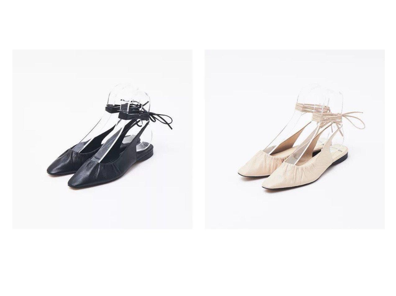 【Rouge vif/ルージュ ヴィフ】のquartierglam ギャザーレースアップシューズ 【シューズ・靴】おすすめ!人気、トレンド・レディースファッションの通販 おすすめで人気の流行・トレンド、ファッションの通販商品 メンズファッション・キッズファッション・インテリア・家具・レディースファッション・服の通販 founy(ファニー) https://founy.com/ ファッション Fashion レディースファッション WOMEN おすすめ Recommend ギャザー シューズ デニム フラット ベーシック リラックス |ID:crp329100000031450