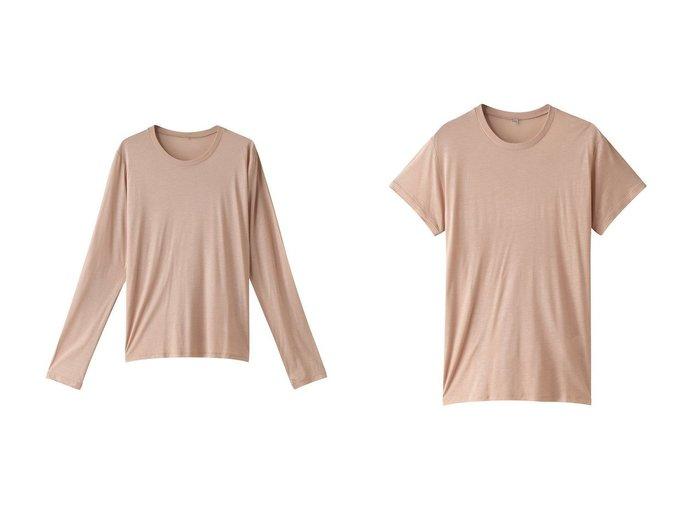 【GALLARDAGALANTE/ガリャルダガランテ】のLong Sleeve Tee&Tee Shirt 【トップス・カットソー】おすすめ!人気、トレンド・レディースファッションの通販 おすすめ人気トレンドファッション通販アイテム 人気、トレンドファッション・服の通販 founy(ファニー) ファッション Fashion レディースファッション WOMEN トップス・カットソー Tops/Tshirt シャツ/ブラウス Shirts/Blouses ロング / Tシャツ T-Shirts カットソー Cut and Sewn シンプル スリーブ バンブー ロング ショート  ID:crp329100000031546