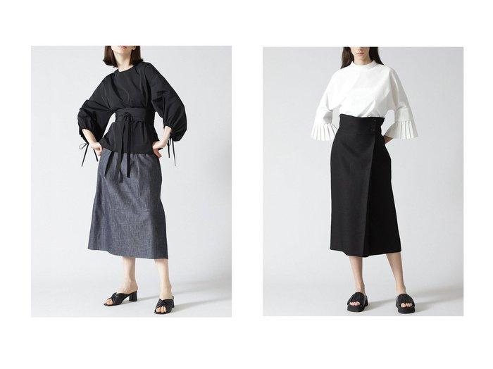 【ADORE/アドーア】のライトデニムスカート&バックジョーゼット麻スカート 【スカート】おすすめ!人気、トレンド・レディースファッションの通販 おすすめファッション通販アイテム インテリア・キッズ・メンズ・レディースファッション・服の通販 founy(ファニー) https://founy.com/ ファッション Fashion レディースファッション WOMEN スカート Skirt デニムスカート Denim Skirts ロングスカート Long Skirt バッグ Bag エレガント シンプル デニム ロング |ID:crp329100000031892