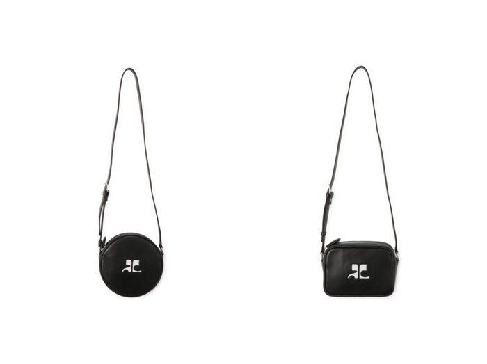 【COURREGES/クレージュ】のCAMERA BAG&CIRCLE BAG 【バッグ・鞄】おすすめ!人気、トレンド・レディースファッションの通販  おすすめ人気トレンドファッション通販アイテム 人気、トレンドファッション・服の通販 founy(ファニー) ファッション Fashion レディースファッション WOMEN バッグ Bag 2021年 2021 2021春夏・S/S SS/Spring/Summer/2021 S/S・春夏 SS・Spring/Summer カメラ ショルダー フォルム オケージョン サークル フェミニン フロント |ID:crp329100000031946