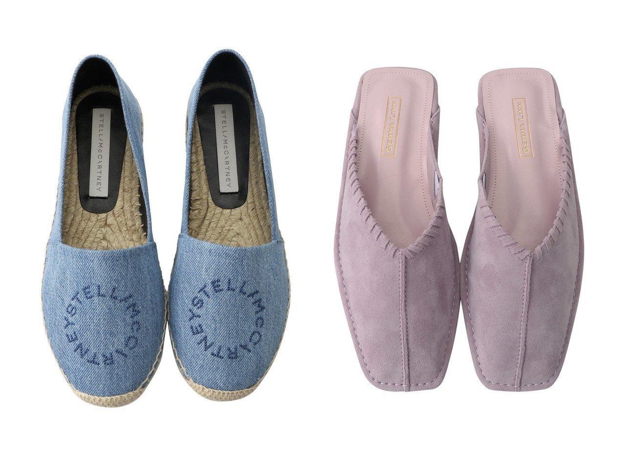 【Daniella & GEMMA/ダニエラ アンド ジェマ】のステッチモチーフラットサンダル&【STELLA McCARTNEY/ステラ マッカートニー】のSelene Organic Denim エスパドリーユ 【シューズ・靴】おすすめ!人気、トレンド・レディースファッションの通販  おすすめで人気の流行・トレンド、ファッションの通販商品 メンズファッション・キッズファッション・インテリア・家具・レディースファッション・服の通販 founy(ファニー) https://founy.com/ ファッション Fashion レディースファッション WOMEN おすすめ Recommend シューズ デニム フラット フロント サンダル |ID:crp329100000032101