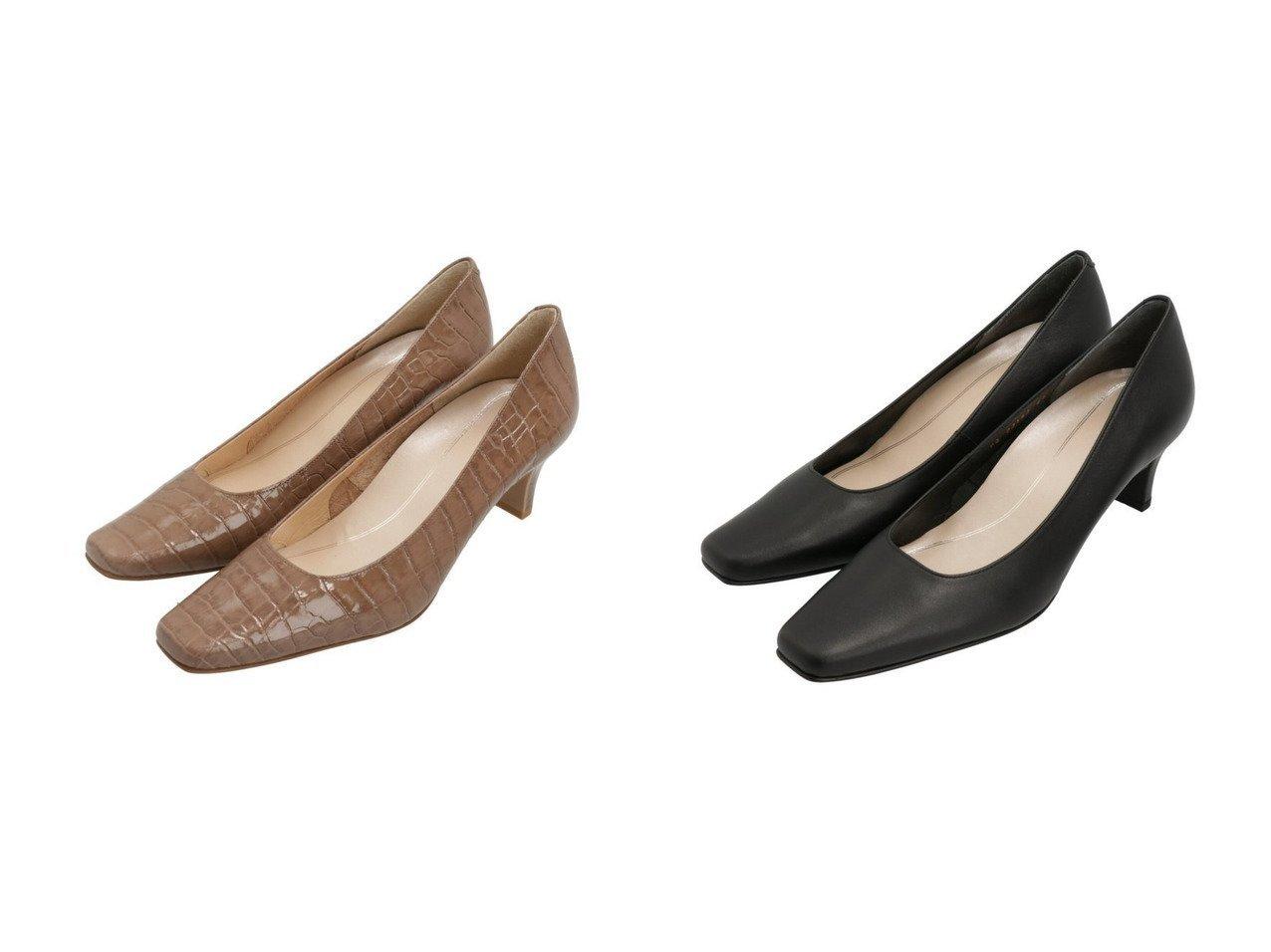 【Riz raffinee/リズ ラフィーネ】の【3E】スクエアカットプレーンパンプス 【シューズ・靴】おすすめ!人気、トレンド・レディースファッションの通販  おすすめで人気の流行・トレンド、ファッションの通販商品 メンズファッション・キッズファッション・インテリア・家具・レディースファッション・服の通販 founy(ファニー) https://founy.com/ ファッション Fashion レディースファッション WOMEN おすすめ Recommend エレガント シューズ スクエア 人気 定番 Standard |ID:crp329100000032107
