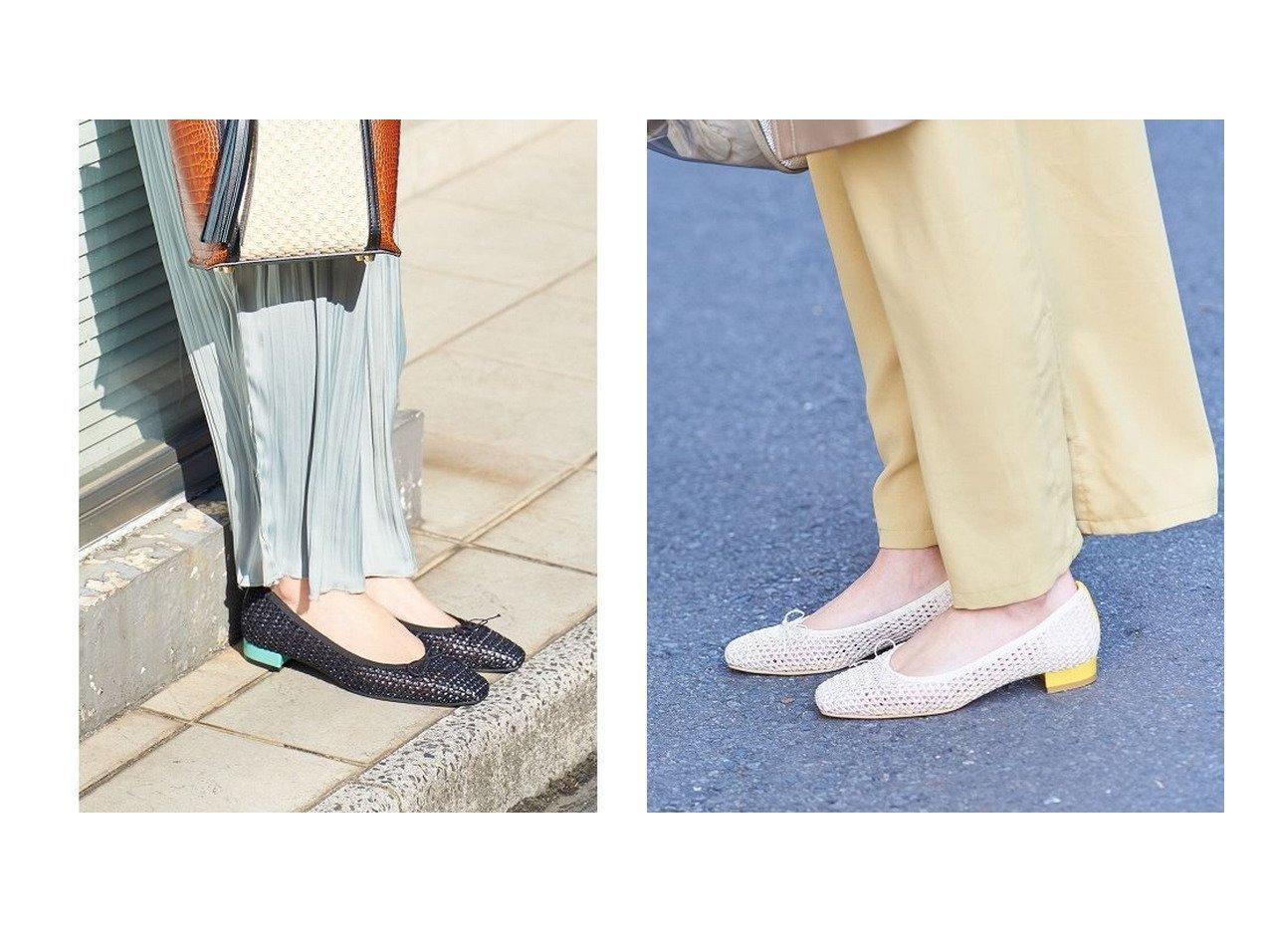 【Bridget Birkin/ブリジット バーキン】の【Bridget Birkin】メッシュカラーブロックパンプス 【シューズ・靴】おすすめ!人気、トレンド・レディースファッションの通販  おすすめで人気の流行・トレンド、ファッションの通販商品 メンズファッション・キッズファッション・インテリア・家具・レディースファッション・服の通販 founy(ファニー) https://founy.com/ ファッション Fashion レディースファッション WOMEN 送料無料 Free Shipping シューズ スクエア ラフィア |ID:crp329100000032109
