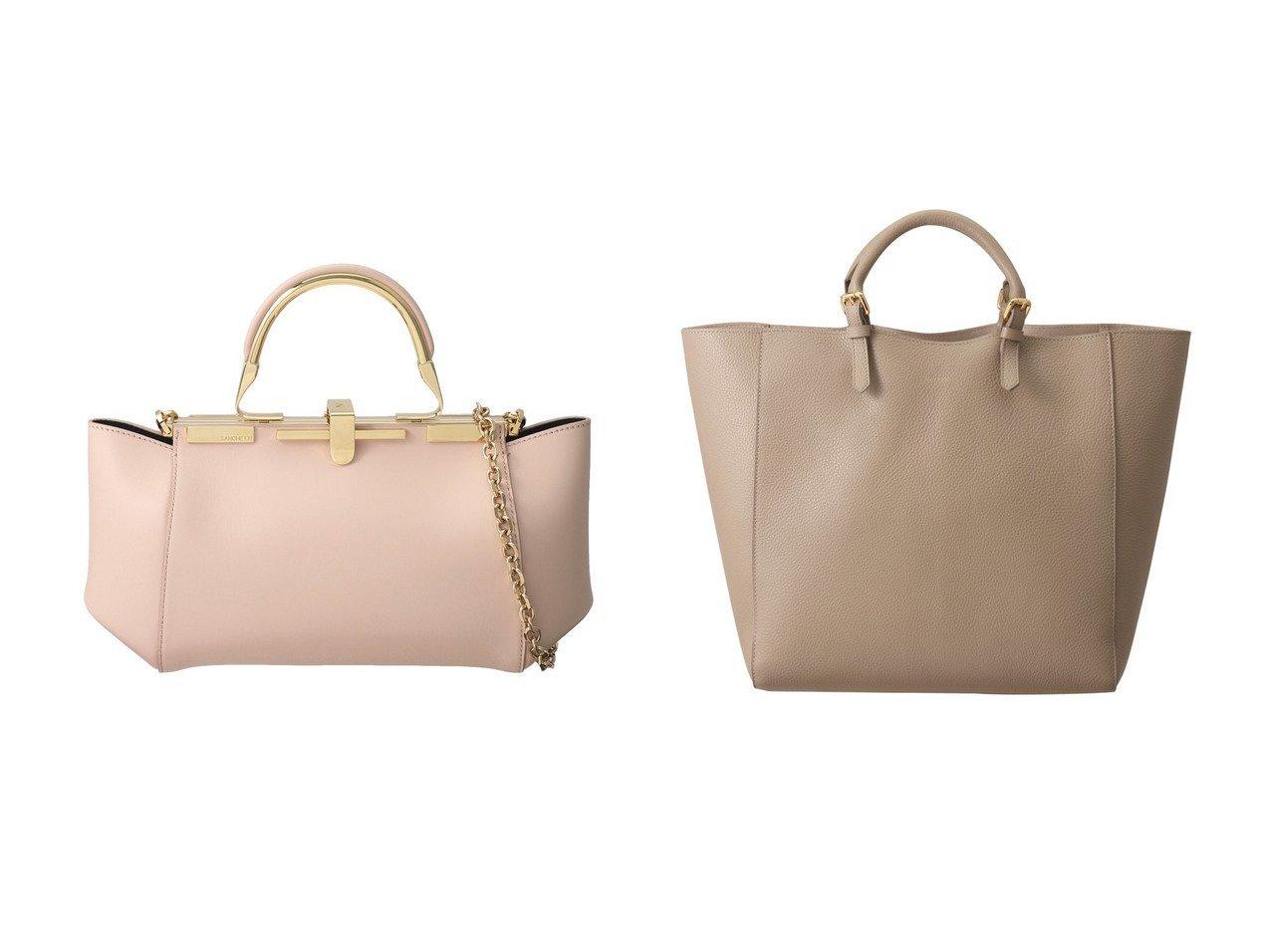 【RIEMPIRE/リエンピーレ】のALIDA ラージトートバッグ&【ZANCHETTI/ザンチェッティ】のAMLETO 20 3wayハンドバッグ 【バッグ・鞄】おすすめ!人気、トレンド・レディースファッションの通販  おすすめで人気の流行・トレンド、ファッションの通販商品 メンズファッション・キッズファッション・インテリア・家具・レディースファッション・服の通販 founy(ファニー) https://founy.com/ ファッション Fashion レディースファッション WOMEN バッグ Bag コンパクト ショルダー チェーン ハンドバッグ パーティ シンプル  ID:crp329100000032122