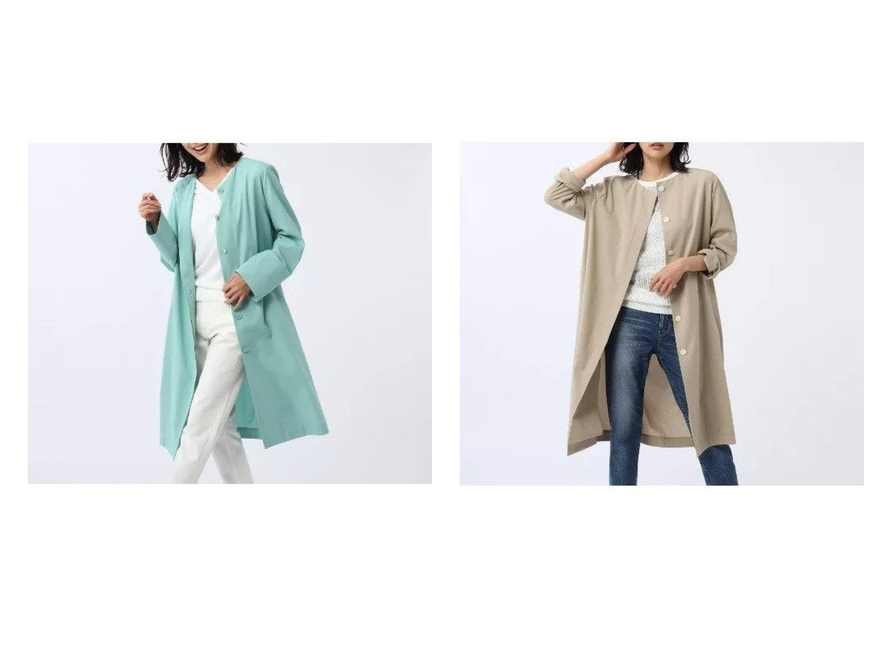 【UNTITLED/アンタイトル】のアイスバーグクロスシャツコート 【アウター】おすすめ!人気、トレンド・レディースファッションの通販  おすすめで人気の流行・トレンド、ファッションの通販商品 メンズファッション・キッズファッション・インテリア・家具・レディースファッション・服の通販 founy(ファニー) https://founy.com/ ファッション Fashion レディースファッション WOMEN アウター Coat Outerwear コート Coats イタリア ポケット |ID:crp329100000032174