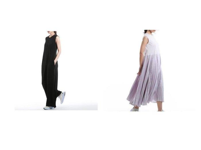 【EPOCA/エポカ】の【LA MAGLIA Lu TECS】スタイルアップコンビネゾン&【LA MAGLIA Lu TECS】プリーツドレス 【ワンピース・ドレス】おすすめ!人気、トレンド・レディースファッションの通販  おすすめ人気トレンドファッション通販アイテム 人気、トレンドファッション・服の通販 founy(ファニー) ファッション Fashion レディースファッション WOMEN ワンピース Dress ドレス Party Dresses コンビ ジャージ ドレス ドレープ パターン フォルム フォーマル プリーツ モダン ラグジュアリー リュクス リラックス |ID:crp329100000032189