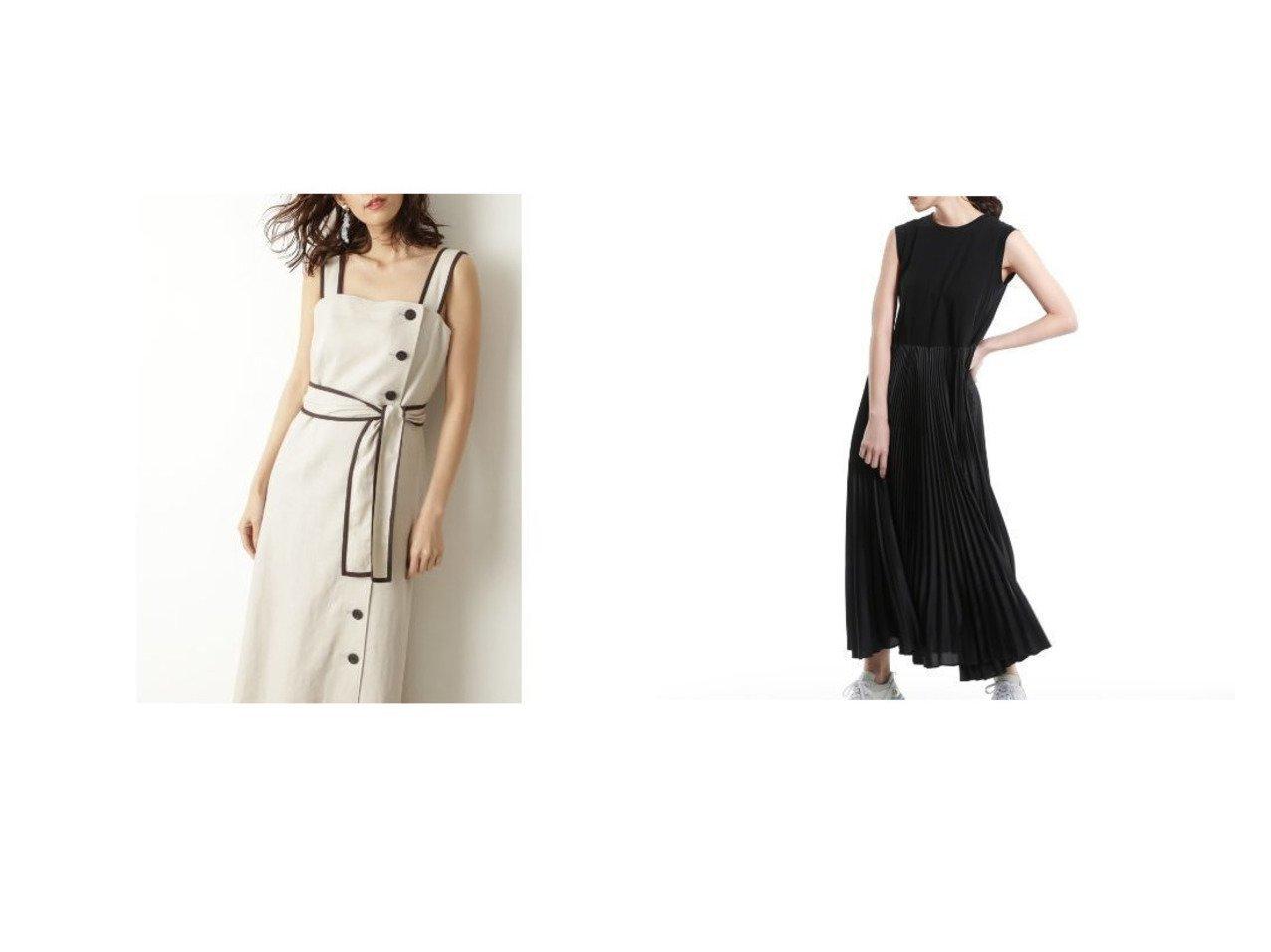 【EPOCA/エポカ】の【LA MAGLIA Lu TECS】プリーツドレス&【JILLSTUART/ジルスチュアート】のパメラワンピース 【ワンピース・ドレス】おすすめ!人気、トレンド・レディースファッションの通販  おすすめで人気の流行・トレンド、ファッションの通販商品 メンズファッション・キッズファッション・インテリア・家具・レディースファッション・服の通販 founy(ファニー) https://founy.com/ ファッション Fashion レディースファッション WOMEN ワンピース Dress ドレス Party Dresses コンビ ジャージ ドレス ドレープ パターン フォルム フォーマル プリーツ モダン ラグジュアリー リュクス リラックス アンダー インナー スリット スリム セットアップ パイピング リネン 春 Spring |ID:crp329100000032191