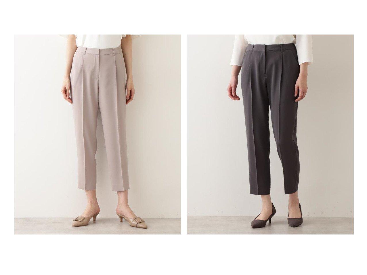 【NATURAL BEAUTY BASIC/ナチュラル ビューティー ベーシック】の洗える ポリエステルドビーセットアップ パンツ 【パンツ】おすすめ!人気、トレンド・レディースファッションの通販 おすすめで人気の流行・トレンド、ファッションの通販商品 メンズファッション・キッズファッション・インテリア・家具・レディースファッション・服の通販 founy(ファニー) https://founy.com/ ファッション Fashion レディースファッション WOMEN セットアップ Setup パンツ Pants ウォッシャブル ジャケット スタンダード セットアップ ベーシック 再入荷 Restock/Back in Stock/Re Arrival 洗える  ID:crp329100000032328