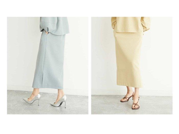 【MICHEL KLEIN/ミッシェルクラン】の【セットアップ対応/WEB限定カラー/洗える】ブークレーペンシルスカート 【スカート】おすすめ!人気、トレンド・レディースファッションの通販 おすすめファッション通販アイテム レディースファッション・服の通販 founy(ファニー)  ファッション Fashion レディースファッション WOMEN セットアップ Setup スカート Skirt セットアップ 再入荷 Restock/Back in Stock/Re Arrival 洗える  ID:crp329100000032358