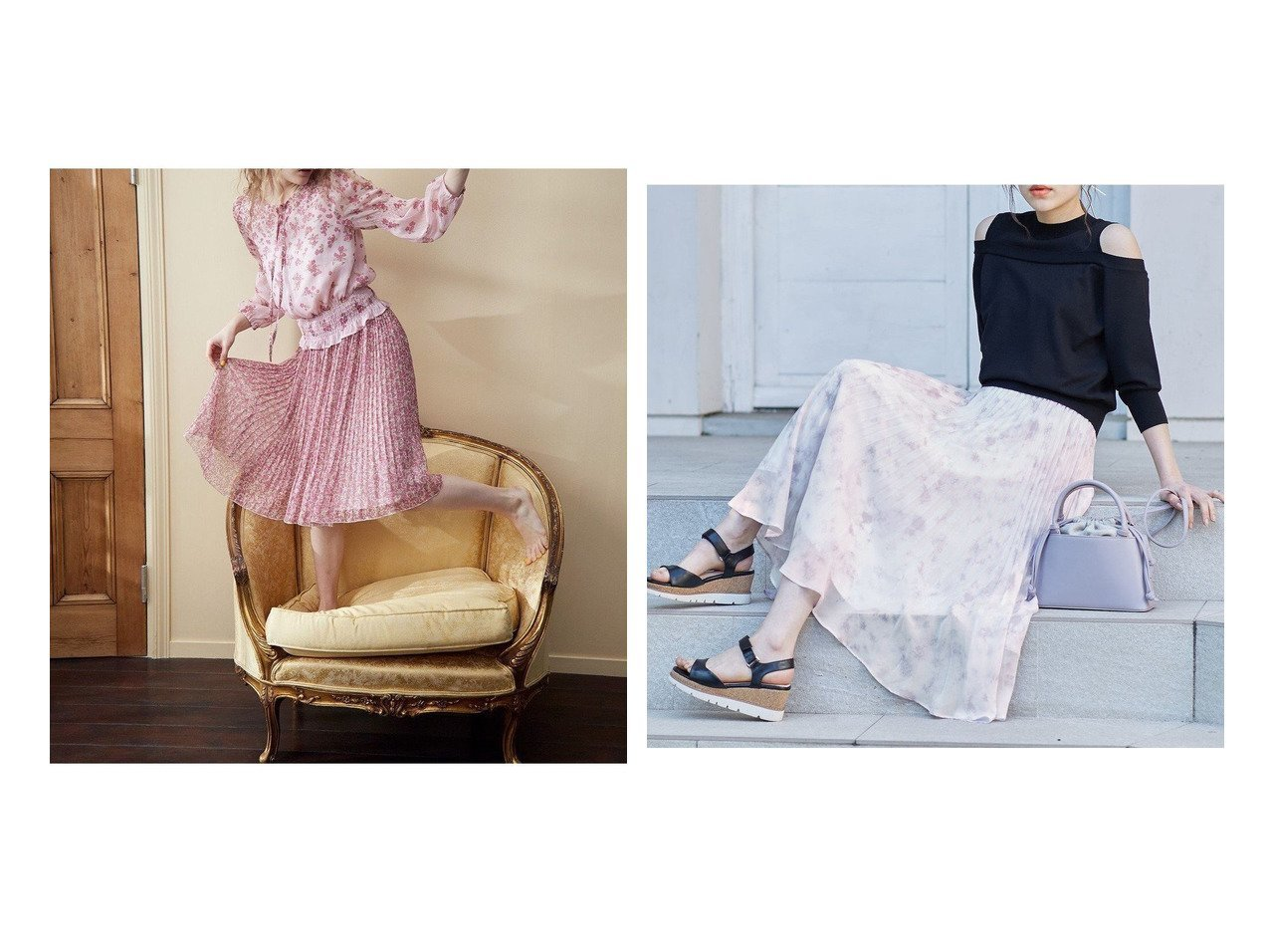 【TOCCA/トッカ】の【洗える!】STAR ANIS スカート&【Feroux/フェルゥ】の【洗える】Pastelミスティプリント スカート 【スカート】おすすめ!人気、トレンド・レディースファッションの通販 おすすめで人気の流行・トレンド、ファッションの通販商品 メンズファッション・キッズファッション・インテリア・家具・レディースファッション・服の通販 founy(ファニー) https://founy.com/ ファッション Fashion レディースファッション WOMEN スカート Skirt プリーツスカート Pleated Skirts 送料無料 Free Shipping 2021年 2021 2021春夏・S/S SS/Spring/Summer/2021 再入荷 Restock/Back in Stock/Re Arrival 洗える |ID:crp329100000032367