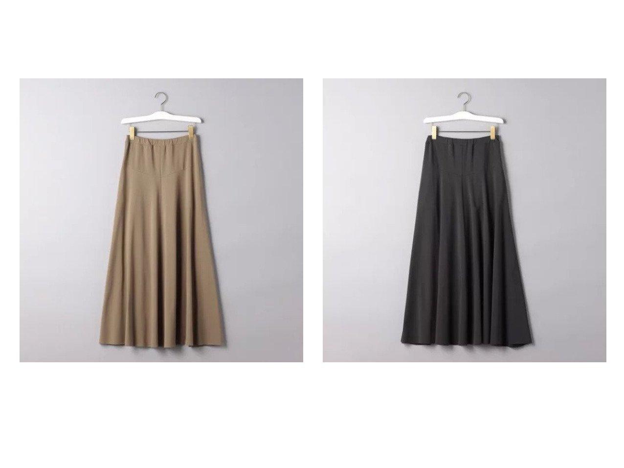 【UNITED ARROWS/ユナイテッドアローズ】のC イージー フレアースカート 【スカート】おすすめ!人気、トレンド・レディースファッションの通販 おすすめで人気の流行・トレンド、ファッションの通販商品 メンズファッション・キッズファッション・インテリア・家具・レディースファッション・服の通販 founy(ファニー) https://founy.com/ ファッション Fashion レディースファッション WOMEN スカート Skirt カットソー セットアップ フレアースカート マキシ ロング |ID:crp329100000032373