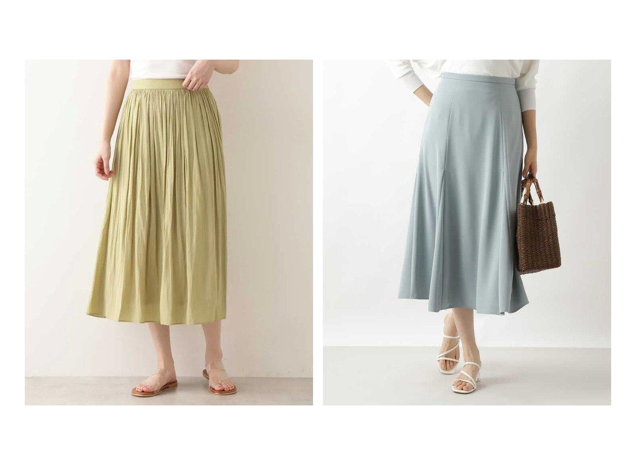 【NATURAL BEAUTY BASIC/ナチュラル ビューティー ベーシック】のサテンギャザースカート&洗える ゴアードフレアスカート 【スカート】おすすめ!人気、トレンド・レディースファッションの通販 おすすめで人気の流行・トレンド、ファッションの通販商品 メンズファッション・キッズファッション・インテリア・家具・レディースファッション・服の通販 founy(ファニー) https://founy.com/ ファッション Fashion レディースファッション WOMEN スカート Skirt Aライン/フレアスカート Flared A-Line Skirts ギャザー プリーツ 人気 定番 Standard サテン トレンド パターン フレア ベーシック 洗える |ID:crp329100000032375