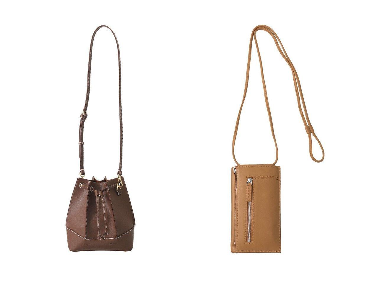 【Whim Gazette/ウィムガゼット】の【CASA】ECOバッグ付きモバイルウォレット&【martinique/マルティニーク】の【elleme】巾着バッグ 【バッグ・鞄】おすすめ!人気、トレンド・レディースファッションの通販 おすすめで人気の流行・トレンド、ファッションの通販商品 メンズファッション・キッズファッション・インテリア・家具・レディースファッション・服の通販 founy(ファニー) https://founy.com/ ファッション Fashion レディースファッション WOMEN バッグ Bag コンパクト ハンドバッグ フォルム 巾着 なめらか ショルダー スマート  ID:crp329100000032406