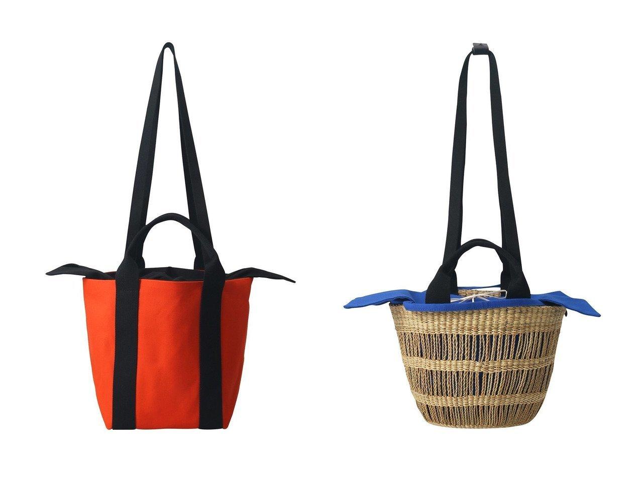 【PLAIN PEOPLE/プレインピープル】の【MUUN】2WAYかごバッグ&【MUUN】2WAYバッグ 【バッグ・鞄】おすすめ!人気、トレンド・レディースファッションの通販 おすすめで人気の流行・トレンド、ファッションの通販商品 メンズファッション・キッズファッション・インテリア・家具・レディースファッション・服の通販 founy(ファニー) https://founy.com/ ファッション Fashion レディースファッション WOMEN バッグ Bag オレンジ キャンバス ショルダー S/S・春夏 SS・Spring/Summer コンビ 春 Spring  ID:crp329100000032407