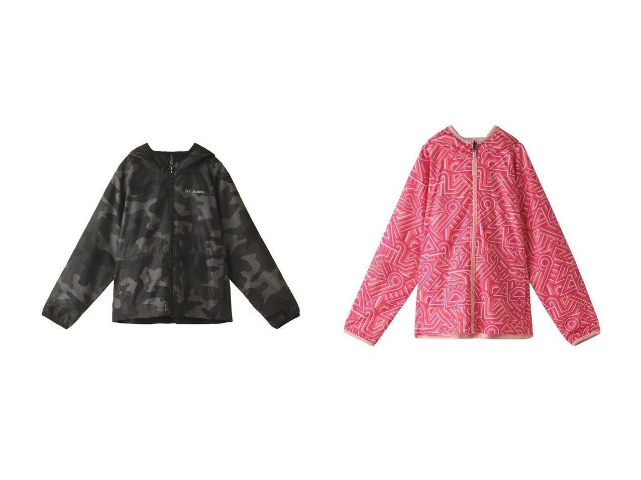 【Columbia / KIDS/コロンビア】の【Kids】ピクセルグラバーリバーシブルジャケット 【KIDS】子供服のおすすめ!人気トレンド・キッズファッションの通販  おすすめで人気の流行・トレンド、ファッションの通販商品 メンズファッション・キッズファッション・インテリア・家具・レディースファッション・服の通販 founy(ファニー) https://founy.com/ ファッション Fashion キッズファッション KIDS アウター Coat Outerwear /Kids シンプル ジャケット 無地 |ID:crp329100000032579
