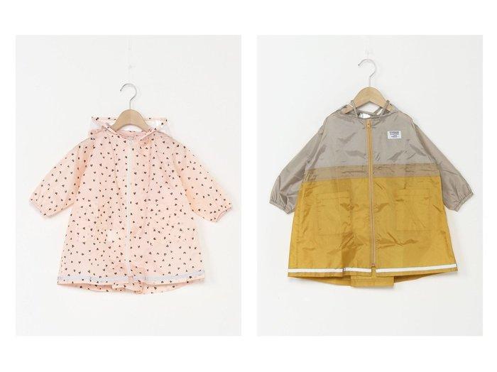 【petit main / KIDS/プティマイン】のアソートレインコート 【KIDS】子供服のおすすめ!人気トレンド・キッズファッションの通販  おすすめファッション通販アイテム レディースファッション・服の通販 founy(ファニー) ファッション Fashion キッズファッション KIDS アウター Coat Outerwear /Kids ジャケット |ID:crp329100000032585