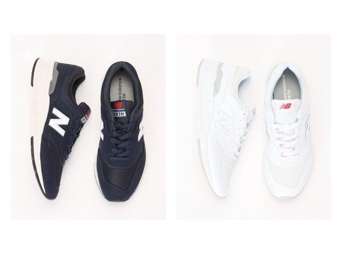 【ikka / MEN/イッカ】の【newbalance】ニューバランス CM997H 【MEN】おすすめ!人気トレンド・男性、メンズファッションの通販  おすすめ人気トレンドファッション通販アイテム 人気、トレンドファッション・服の通販 founy(ファニー)  ファッション Fashion メンズファッション MEN シューズ・靴 Shoes/Men クッション シューズ バランス 人気 軽量 |ID:crp329100000032614
