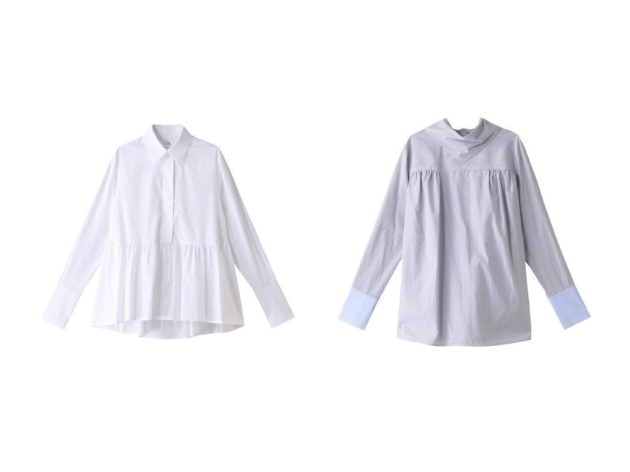 【VICTORIA, VICTORIA BECKHAM/ヴィクトリア ヴィクトリア ベッカム】のパッチワークシャツ&オーガニックコットンシャツ 【トップス・カットソー】おすすめ!人気、トレンド・レディースファッションの通販 おすすめで人気の流行・トレンド、ファッションの通販商品 メンズファッション・キッズファッション・インテリア・家具・レディースファッション・服の通販 founy(ファニー) https://founy.com/ ファッション Fashion レディースファッション WOMEN トップス・カットソー Tops/Tshirt シャツ/ブラウス Shirts/Blouses ギャザー スリーブ フェミニン ベーシック ロング  ID:crp329100000032694