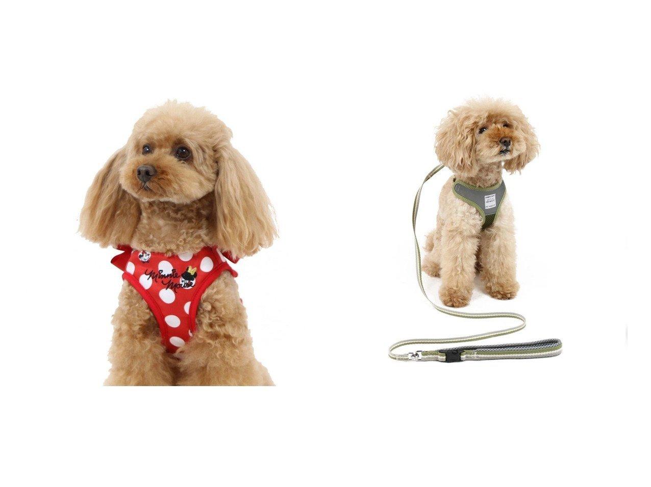 【PET PARADISE/ペットパラダイス】のディズニー ミニーマウス 水玉ベスト ハーネス 3S&ペットパラダイス 反射 カーキ リード付ハーネス ペットS おすすめ!人気、ペットグッズの通販 おすすめで人気の流行・トレンド、ファッションの通販商品 メンズファッション・キッズファッション・インテリア・家具・レディースファッション・服の通販 founy(ファニー) https://founy.com/ ベスト 水玉 ホームグッズ Home/Garden ペットグッズ Pet Supplies  ID:crp329100000032784