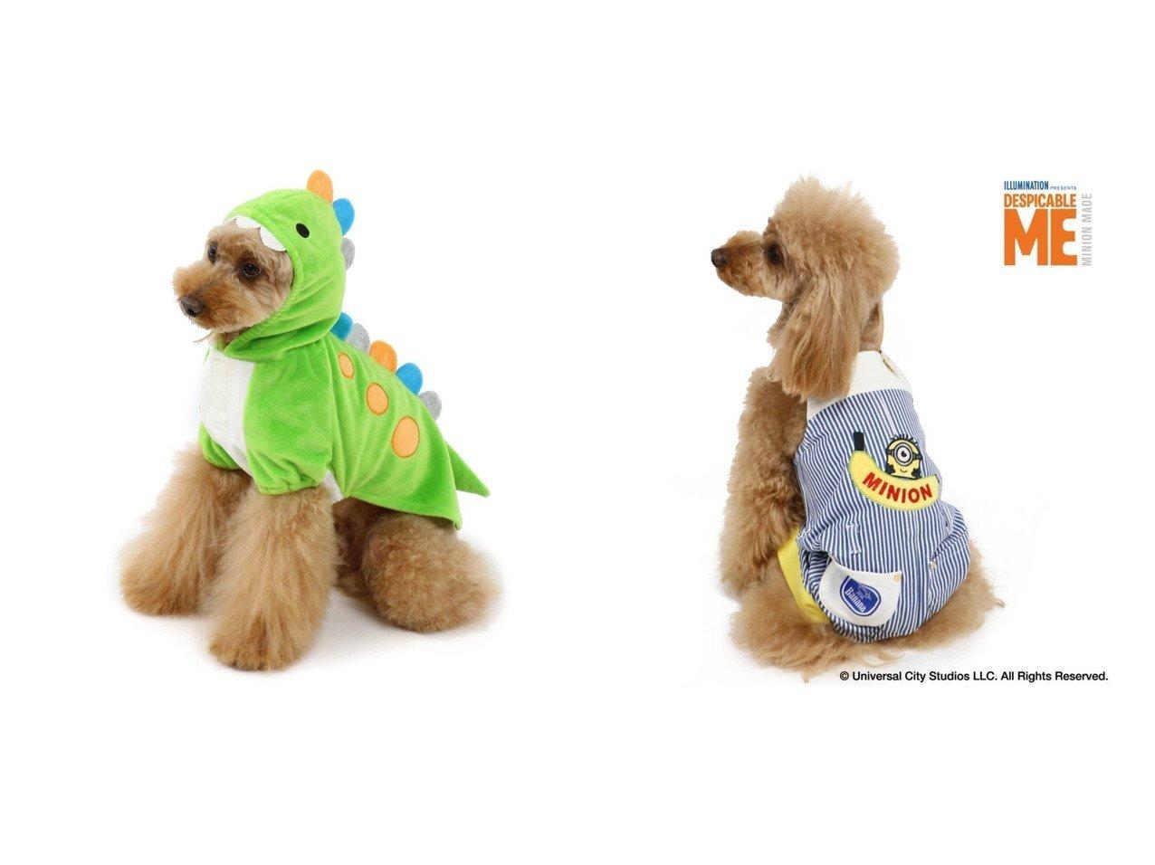 【PET PARADISE/ペットパラダイス】のペットパラダイス 恐竜パーカー【小型犬】&ミニオン バナナ オーバーオール〔小型犬〕 Minion おすすめ!人気、ペットグッズの通販 おすすめで人気の流行・トレンド、ファッションの通販商品 メンズファッション・キッズファッション・インテリア・家具・レディースファッション・服の通販 founy(ファニー) https://founy.com/ パーカー 犬 Dog ホームグッズ Home/Garden ペットグッズ Pet Supplies  ID:crp329100000032793