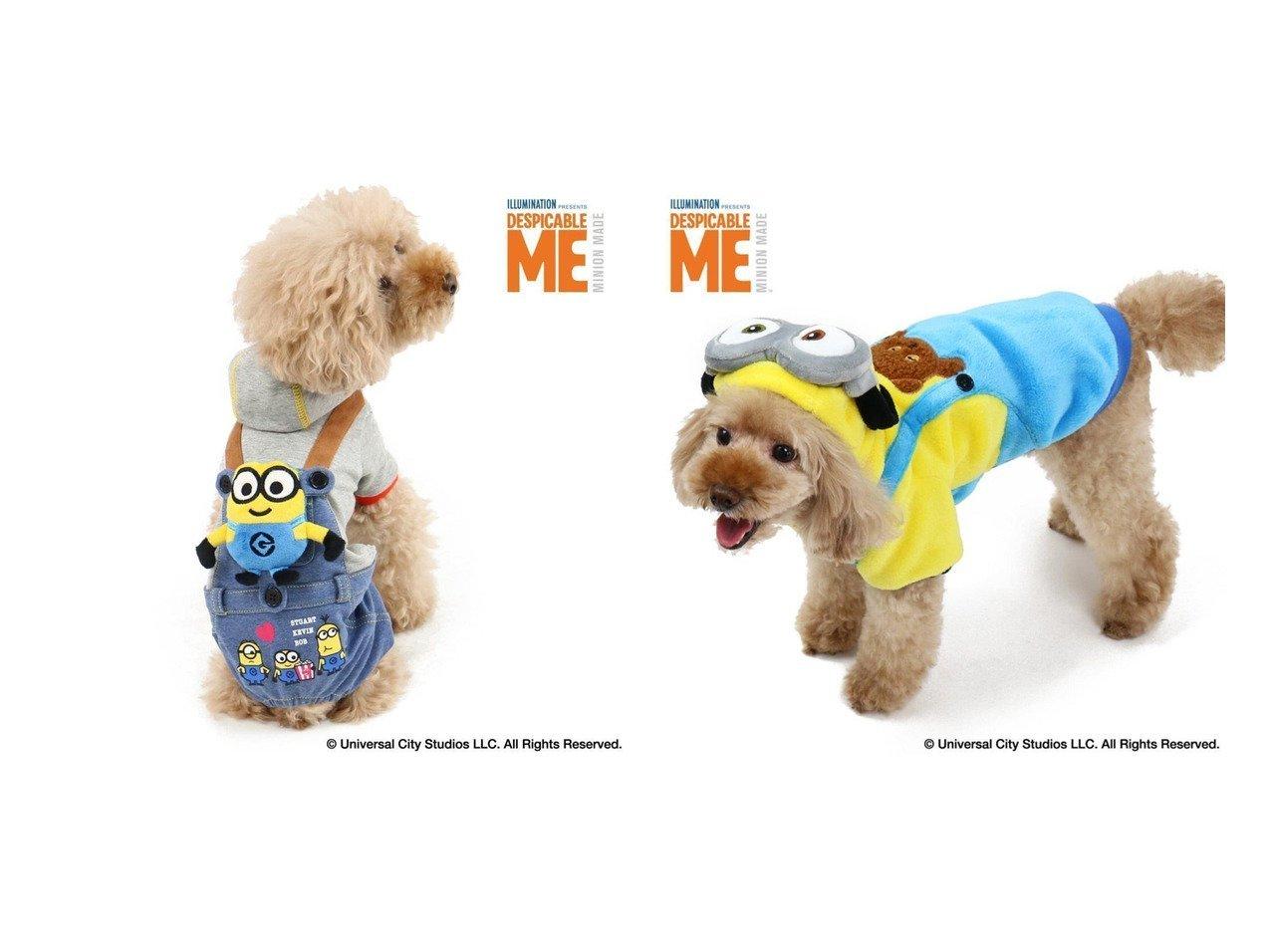 【PET PARADISE/ペットパラダイス】のミニオン ボブ付 パンツつなぎ〔小型犬〕&ミニオン 変身なりきり服 ボブ パーカー〔小型犬〕 おすすめ!人気、ペットグッズの通販 おすすめで人気の流行・トレンド、ファッションの通販商品 メンズファッション・キッズファッション・インテリア・家具・レディースファッション・服の通販 founy(ファニー) https://founy.com/ パーカー 犬 Dog ホームグッズ Home/Garden ペットグッズ Pet Supplies  ID:crp329100000032798