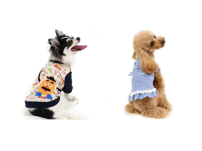 【PET PARADISE/ペットパラダイス】のトイ・ストーリー ポテトヘッド トレーナー〔超小型・小型犬〕&ペットパラダイス フリルTシャツ青〔超小型・小型犬〕 おすすめ!人気、ペットグッズの通販 おすすめ人気トレンドファッション通販アイテム 人気、トレンドファッション・服の通販 founy(ファニー)  トレーナー 犬 Dog ホームグッズ Home/Garden ペットグッズ Pet Supplies  ID:crp329100000032811