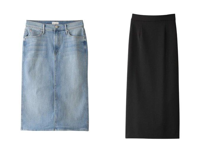 【allureville/アルアバイル】のダブルクロスロングタイトスカート&【MOTHER/マザー】のTHE SWOONER STRAIGHT A SKIRT デニムスカート 【スカート】おすすめ!人気、トレンド・レディースファッションの通販 おすすめ人気トレンドファッション通販アイテム 人気、トレンドファッション・服の通販 founy(ファニー) ファッション Fashion レディースファッション WOMEN スカート Skirt デニムスカート Denim Skirts ロングスカート Long Skirt デニム ハイライズ ベーシック おすすめ Recommend シンプル タイトスカート ダブル フォルム ロング |ID:crp329100000032895